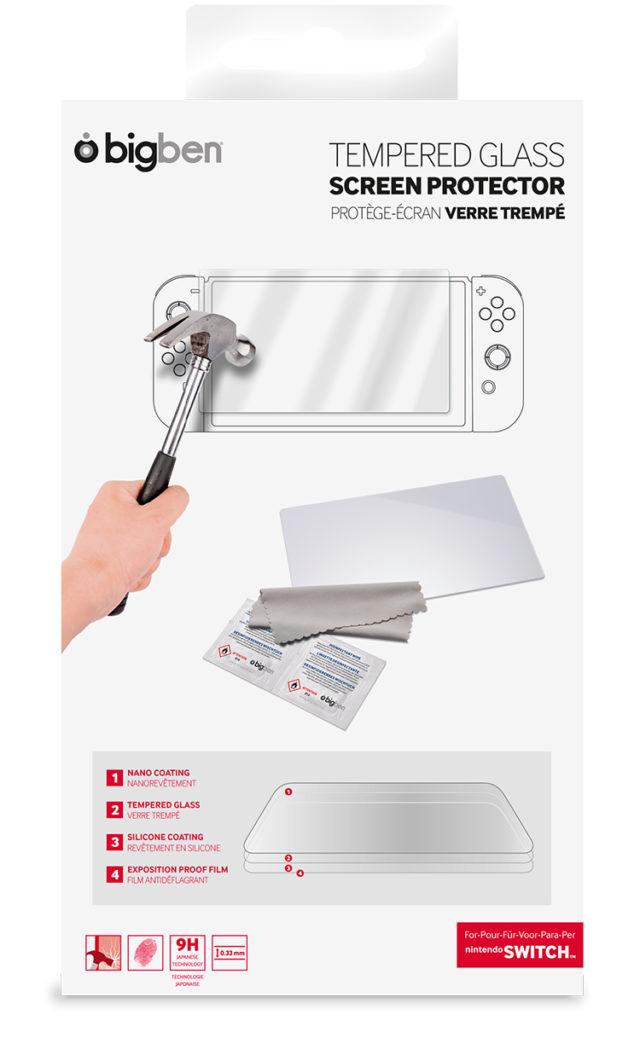 Proteggi schermo in vetro temperato per tablet Nintendo Switch™ – Immagine#2tutu#4tutu