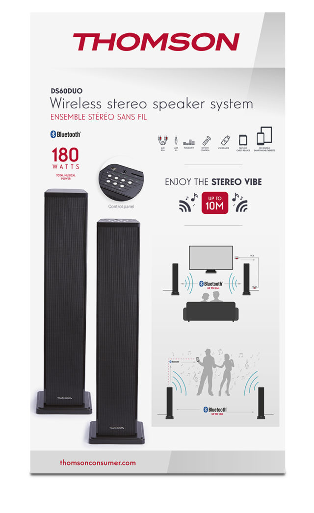 Sistema Stereo Wireless THOMSON – Immagine#2tutu#3