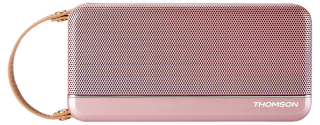 THOMSON Speaker Wireless Portatile (rosa metallico) – Packshot