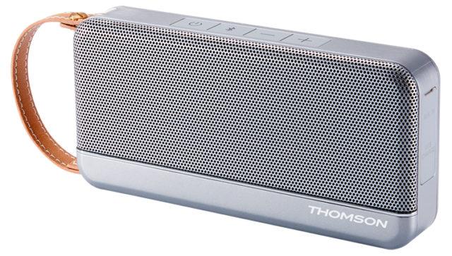 THOMSON Speaker Wireless Portatile (argento) – Immagine