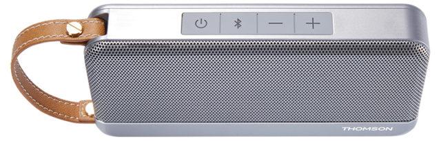 THOMSON Speaker Wireless Portatile (argento) – Immagine#1