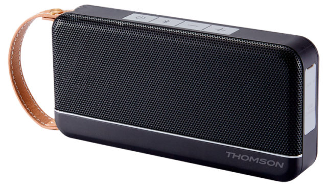THOMSON Speaker Wireless Portatile (nero satinato) – Immagine