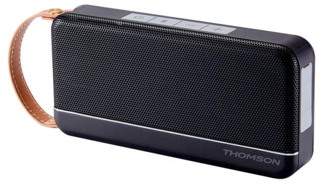 THOMSON Speaker Wireless Portatile (nero satinato) – Immagine