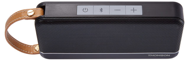 THOMSON Speaker Wireless Portatile (nero satinato) – Immagine#1