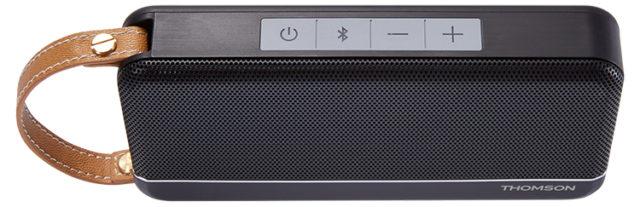 THOMSON Speaker Wireless Portatile (nero satinato) – Immagine#1