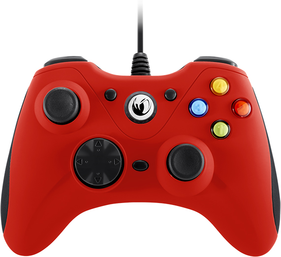 NACON PC Game Controller (Red) – Packshot