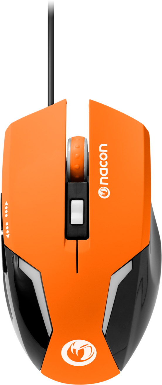 Nacon Optical Mouse (Orange) - Packshot