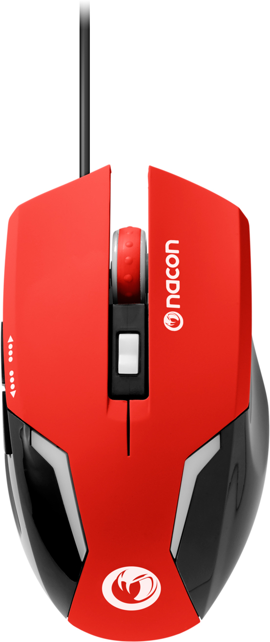 Nacon Optical Mouse (Red) - Packshot
