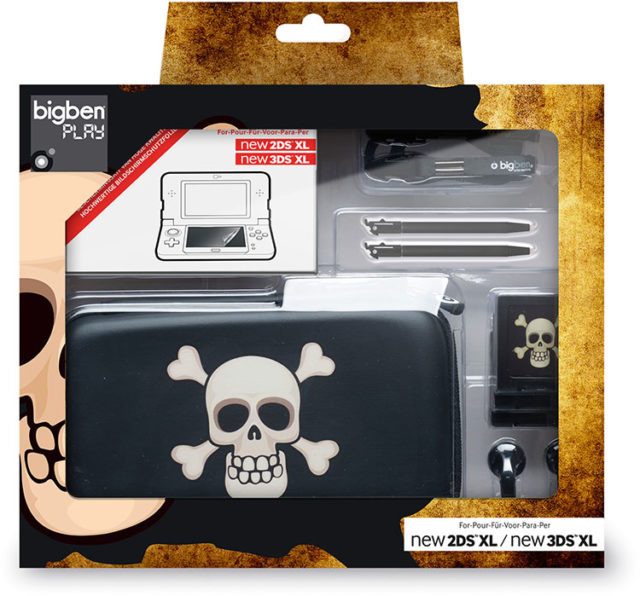 "Pack essential"" for Nintendo New 2DS™ XL/ Nintendo New 3DS™ XL""(limited edition""pirate"") – Immagine#1"