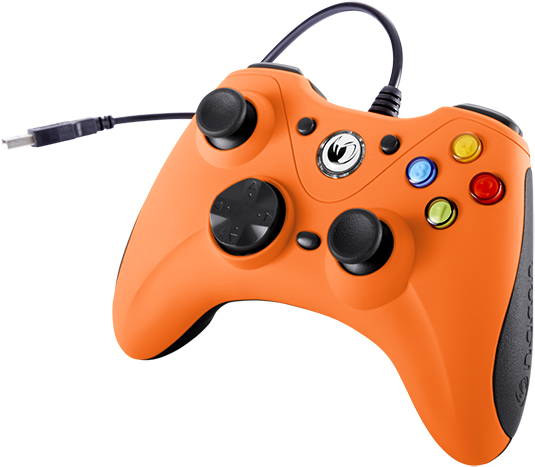 NACON PC Game Controller (Orange) – Immagine