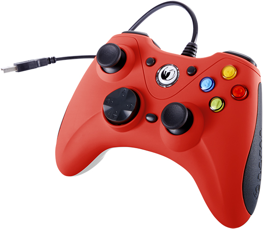 NACON PC Game Controller (Red) – Immagine