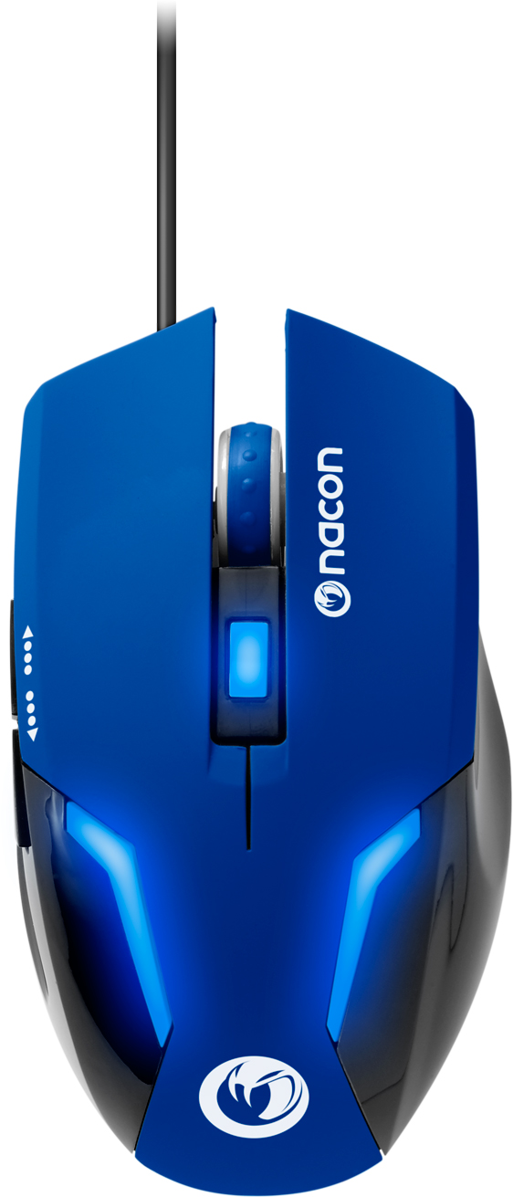 Nacon Optical Mouse (Blue) – Immagine