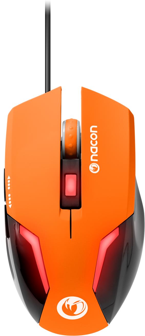 Nacon Optical Mouse (Orange) – Immagine