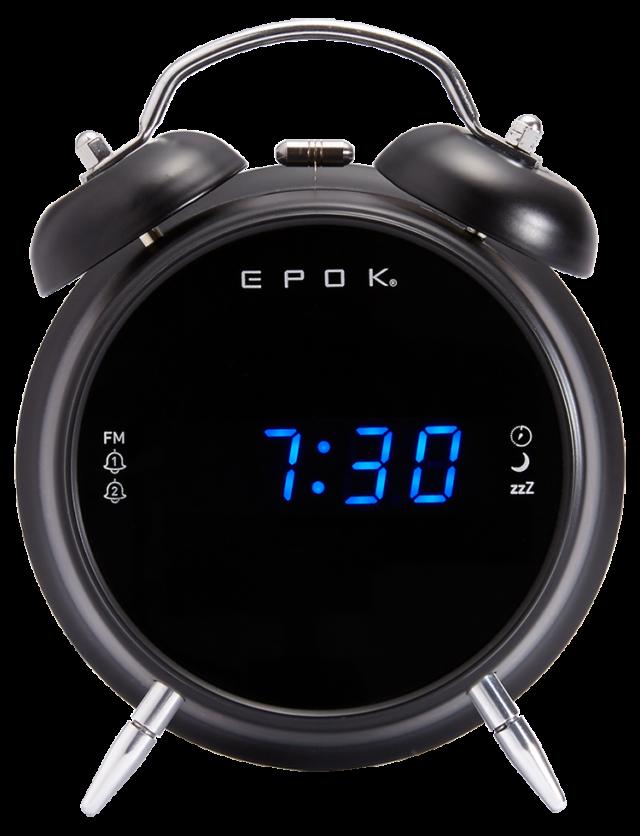 Dual alarm clock (black) RR90EPOKN EPOK® BIGBEN - Packshot