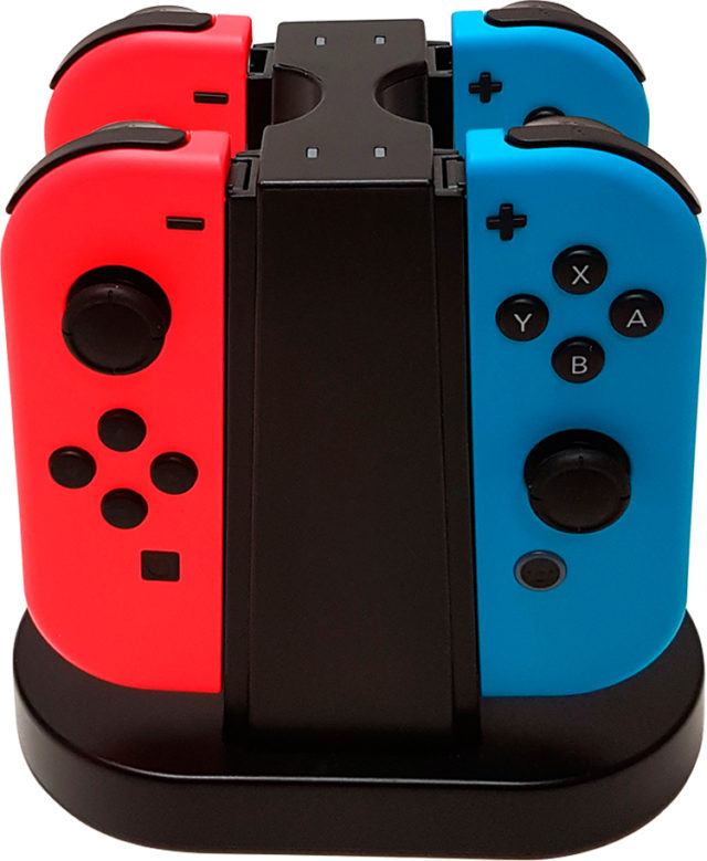 Charging station for 4 Joy-Con™ SWITCHQUADCHARGER BIGBEN - Packshot