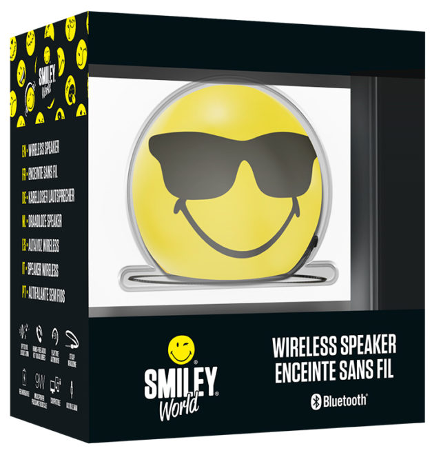 Speaker Wireless Portatile Smiley® – Immagine#2tutu