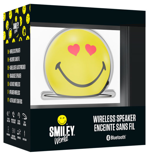 Speaker Wireless Portatile Smiley® – Immagine#2tutu