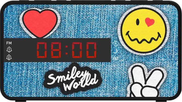 Radiosveglia doppio allarme Smiley© – Immagine#1