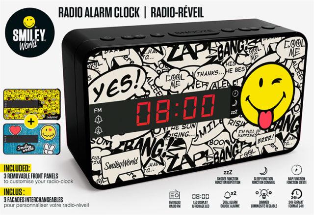 Radiosveglia doppio allarme Smiley© – Immagine#2tutu