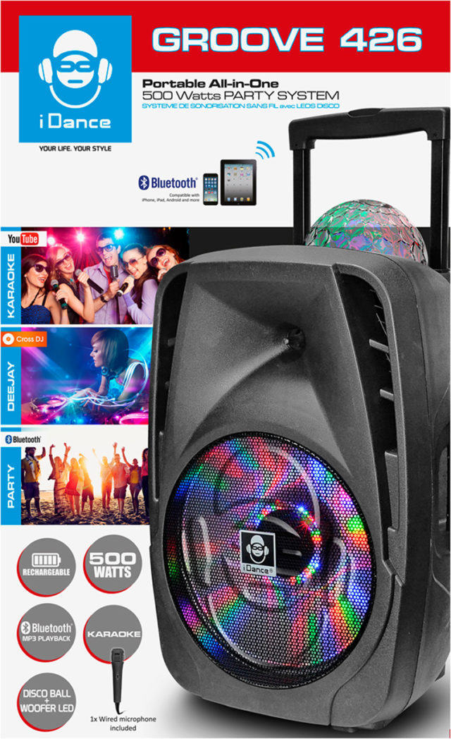 Bluetooth sound and light system GROOVE426 I DANCE – Immagine#1