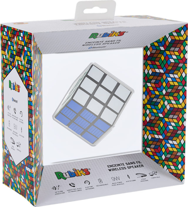 Rubik's Wireless Portable Speaker BT17RUBIKS – Immagine#2tutu