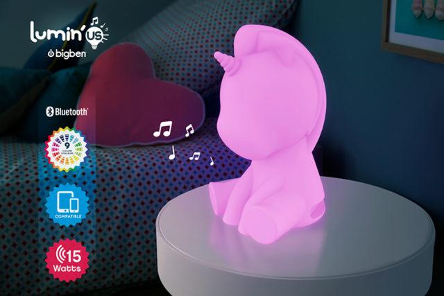 Wireless Luminous speaker Lumin'us (unicorn) BTLSUNICORN BIGBEN – Immagine#2tutu#4tutu#6tutu#8tutu#10tutu