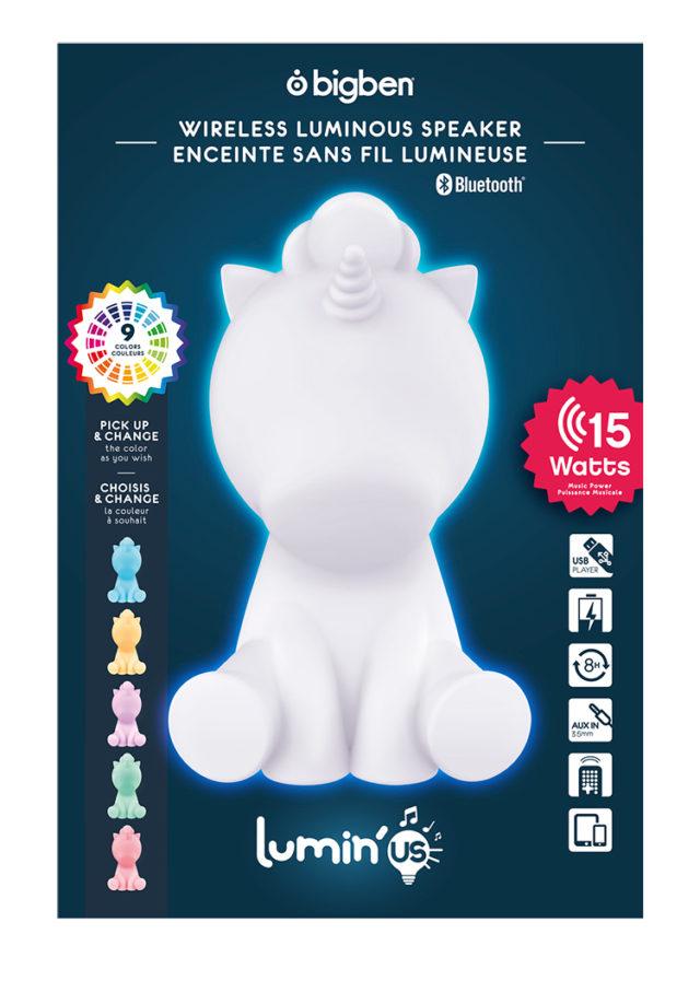 Wireless Luminous speaker Lumin'us (unicorn) BTLSUNICORN BIGBEN – Immagine#2tutu#4tutu#6tutu#8tutu#10tutu#12tutu#14tutu