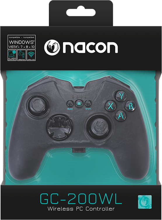 GC-200WL Wireless PC Game Controller PCGC-200WL NACON – Immagine#2tutu