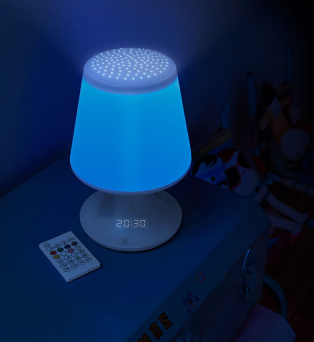 luminous alarm clock with projector – Immagine#2tutu#4tutu