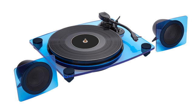 Turntable & speakers TD115BLSPS BIGBEN – Immagine