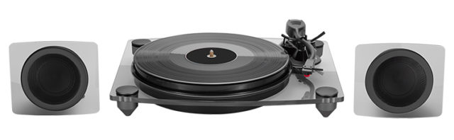 Turntable & speakers TD115NSPS BIGBEN – Immagine