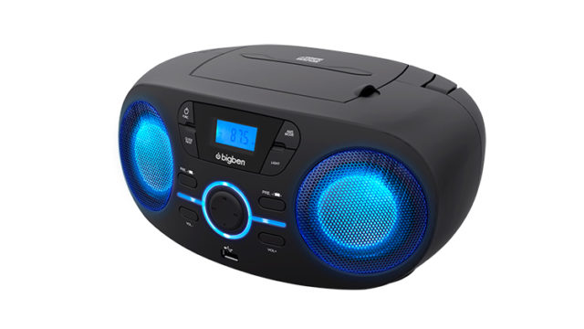 Portable CD/USB player with light effects CD61NUSB BIGBEN – Immagine