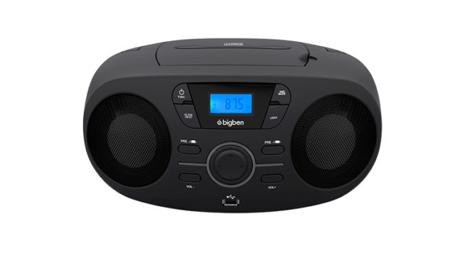 Portable CD/USB player with light effects CD61NUSB BIGBEN – Immagine#1