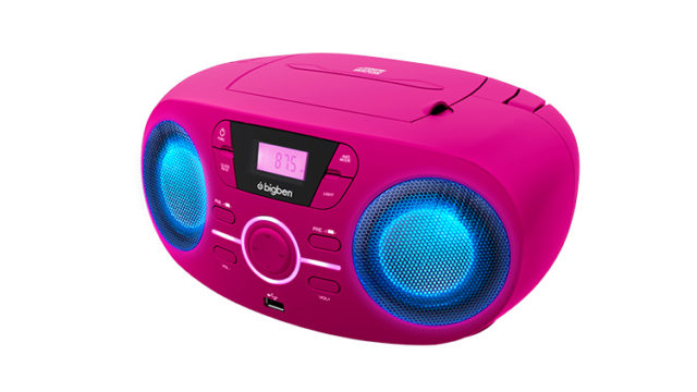 Portable CD/USB player with light effects CD61RUSB BIGBEN – Immagine#1