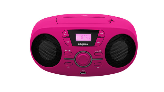 Portable CD/USB player with light effects CD61RUSB BIGBEN – Immagine#2tutu