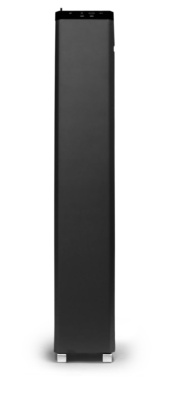 2.1CH multimedia tower (black) – Immagine