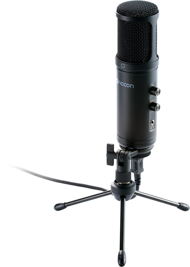 USB microphone for professionnal streaming and other applications - Packshot