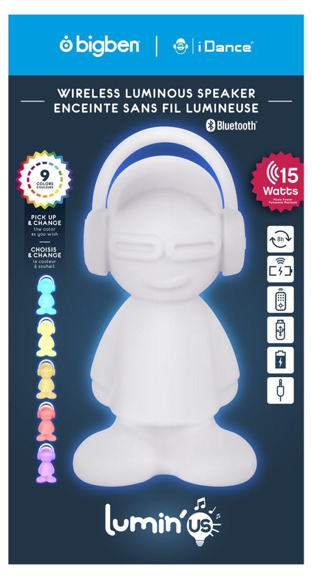 Wireless luminous speaker BTLSDUDE BIGBEN – Immagine#2tutu#4tutu#6tutu#8tutu#9