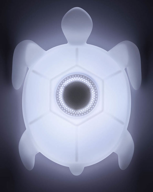Outdoor and waterproof wireless luminous speaker BTLSTURTLE BIGBEN – Immagine