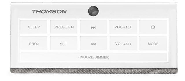 Alarm clock radio with projector CL301P THOMSON – Immagine#1