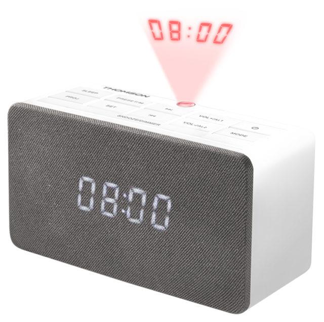 Alarm clock radio with projector CL301P THOMSON – Immagine#2tutu#3