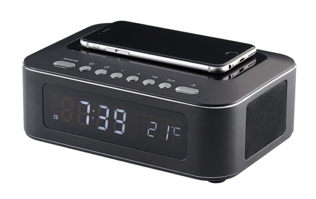 Clock radio with wireless charger CR400IBT THOMSON – Immagine#1