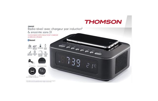 Clock radio with wireless charger CR400IBT THOMSON – Immagine#2tutu#4tutu#5