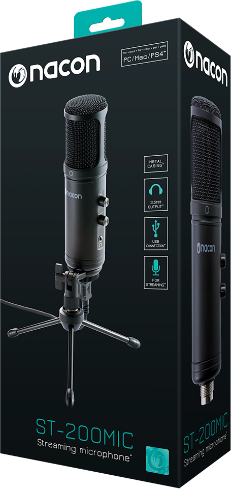 USB microphone for professionnal streaming and other applications – Immagine#2tutu#4tutu