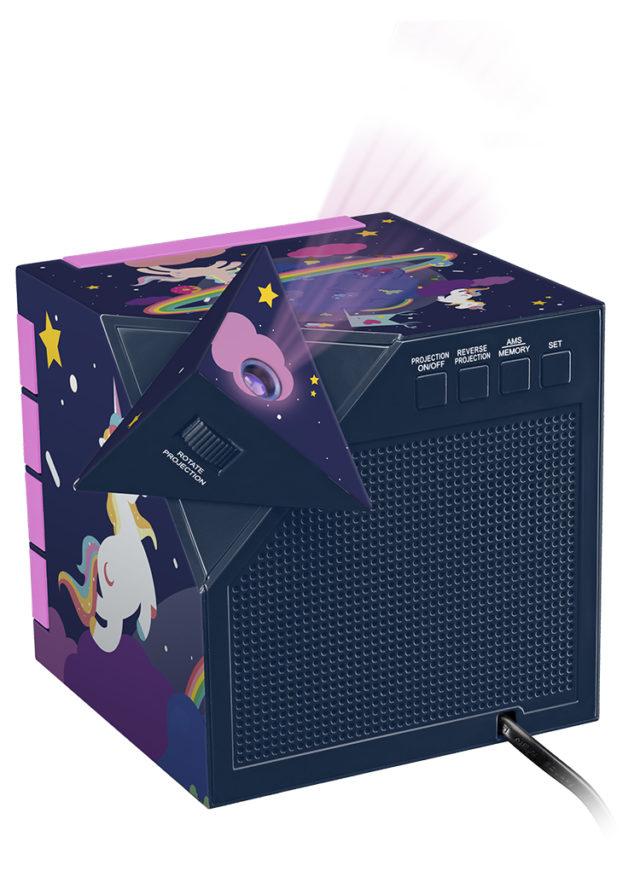 Dual radio alarm clock with projector RR70PUNICORN BIGBEN KIDS – Immagine#2tutu