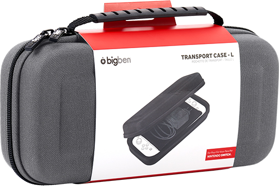Rigid transport case SWITCHPOUCHLGREY BIGBEN – Immagine#1