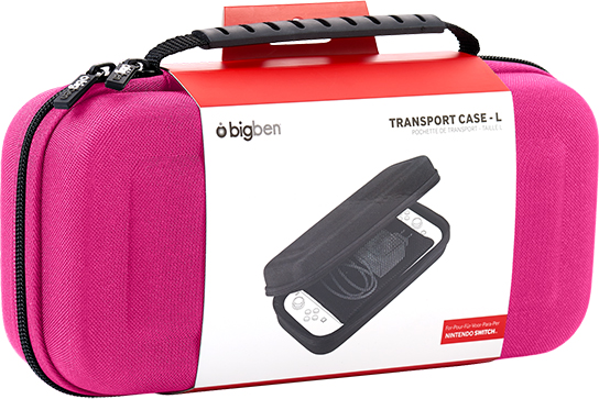 Rigid transport case SWITCHPOUCHLPINK BIGBEN – Immagine#1