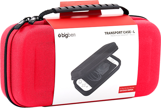 Rigid transport case SWITCHPOUCHLRED BIGBEN – Immagine#1
