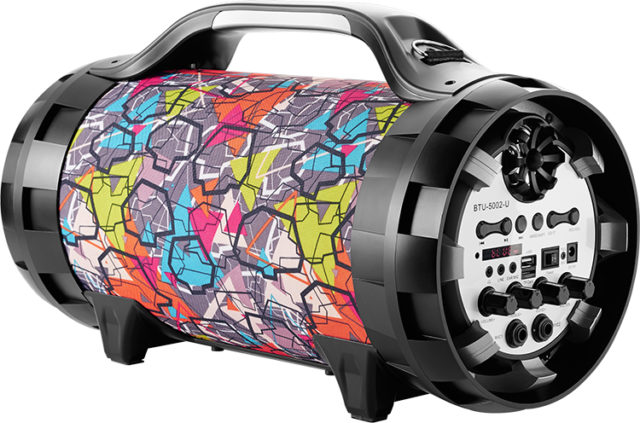 Wireless Ghetto Blaster with lights BT50GRAFF BIGBEN - Packshot