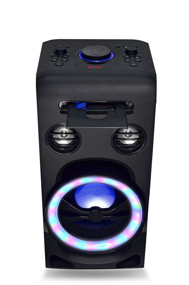 All-in-one bluetooth system + CD player XD3CD I DANCE – Immagine